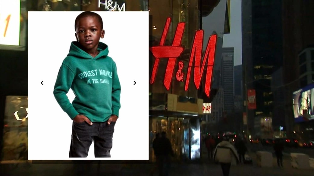 h and m monkey hoodie ad draws criticism from lebron. Black Bedroom Furniture Sets. Home Design Ideas
