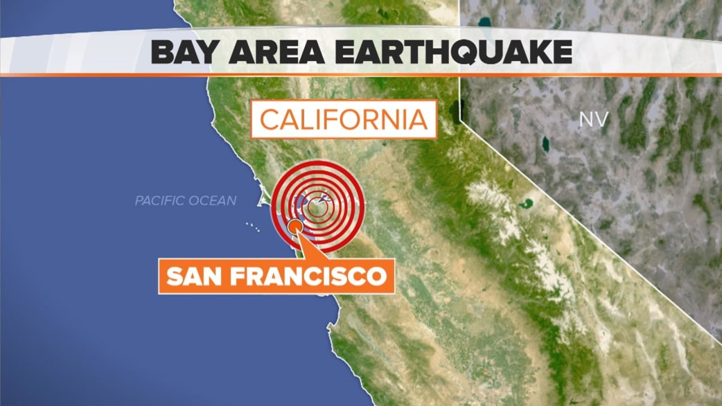 earthquake shakes residents of bay area