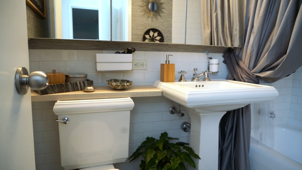 Better On A Budget How To Revamp A Bathroom For Less Than