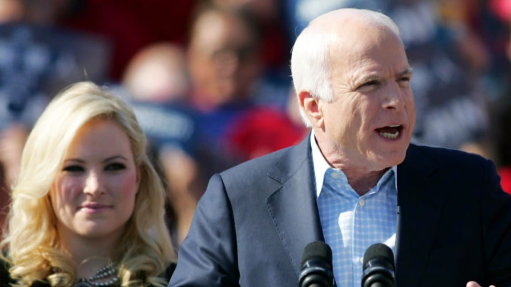 Meghan McCain rejects leaking as excuse for \'he\'s dying\' remark ...
