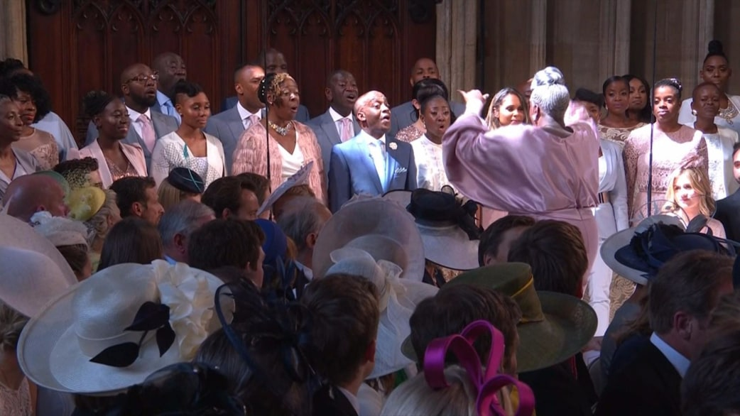 Royal Choir at the wedding 2018