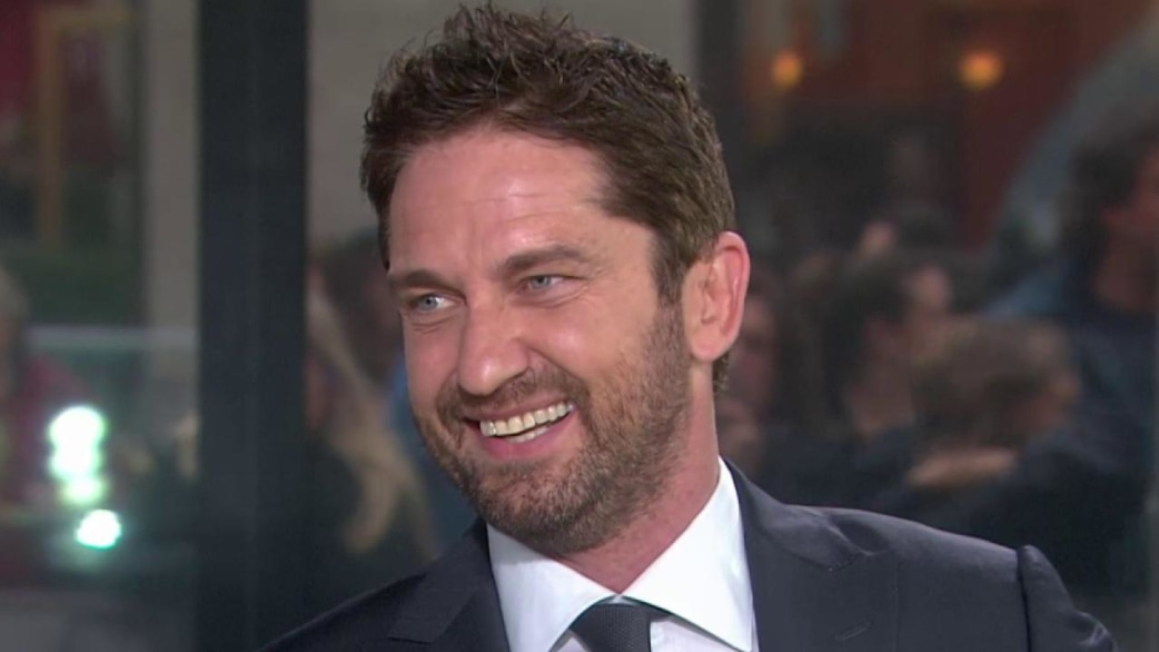 gerard butler it s hard to put down the cheetos and