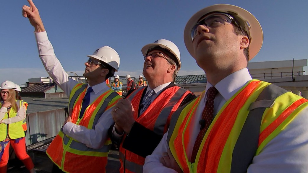 Paul Ryan takes TODAY on exclusive tour of US Capitol dome restoration
