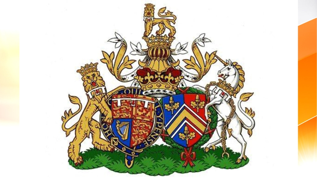 Royal Coat Of Arms Unveiled For Will Kate Today