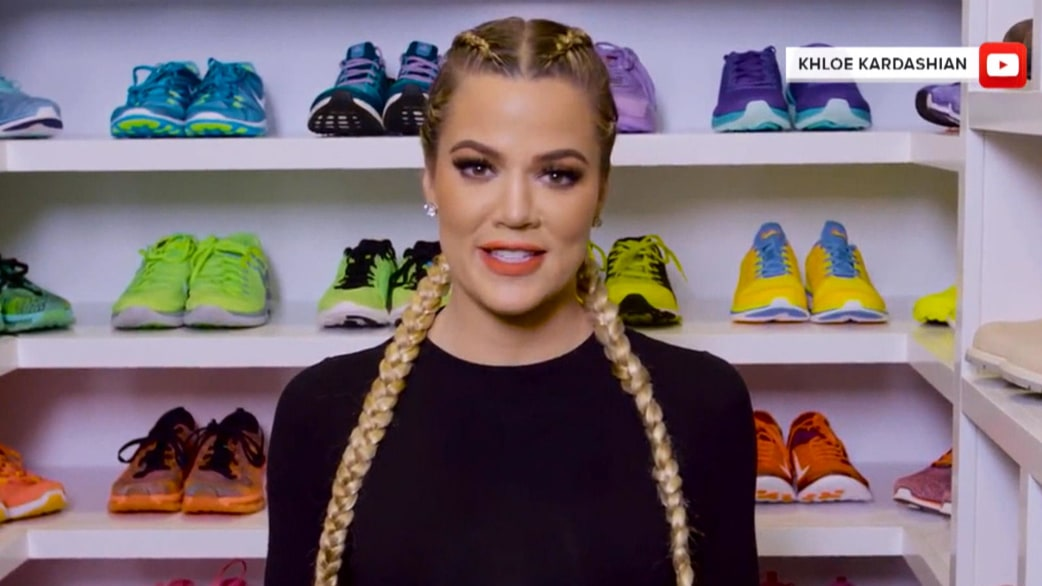 KLG On Khloe Ks Fitness Closet Hoda Would Be Lucky To Have Hangers