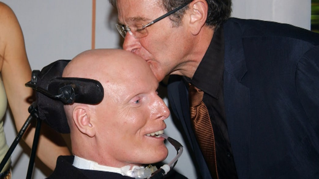 christopher reeve�s touching words on robin williams
