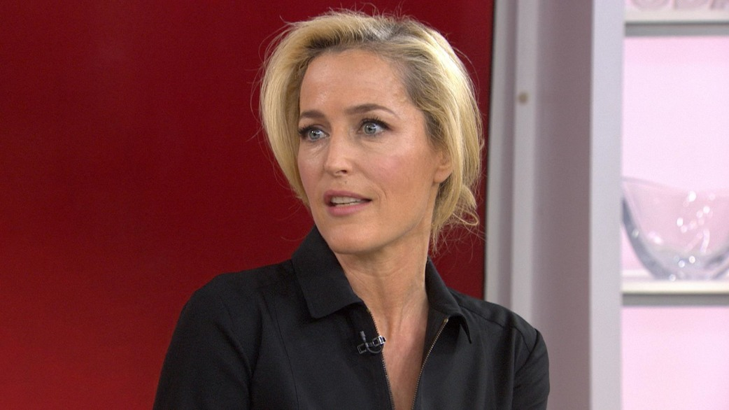 gillian anderson film sold aims to raise awareness of