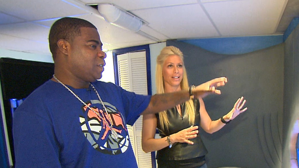 Man Cave With Tank : Tracy morgan shows off man cave shark tank today.com