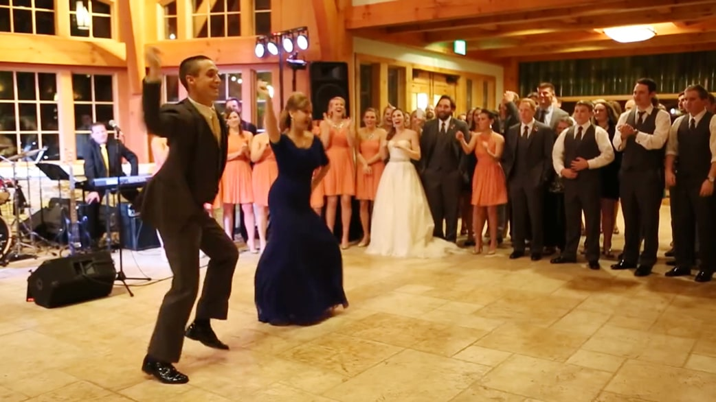 Epic mother son wedding dance goes viral today junglespirit Choice Image