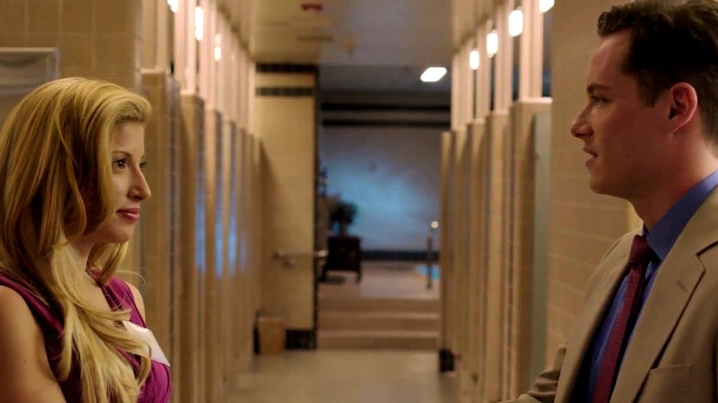 Jodi Arias (Tania Raymonde) and Travis Alexander (Jesse ...  Jodi Arias (Tan...