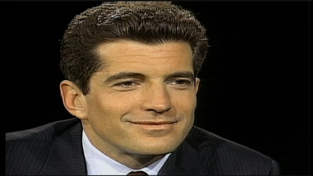 flashback see john f kennedy jr s last tv interview today com