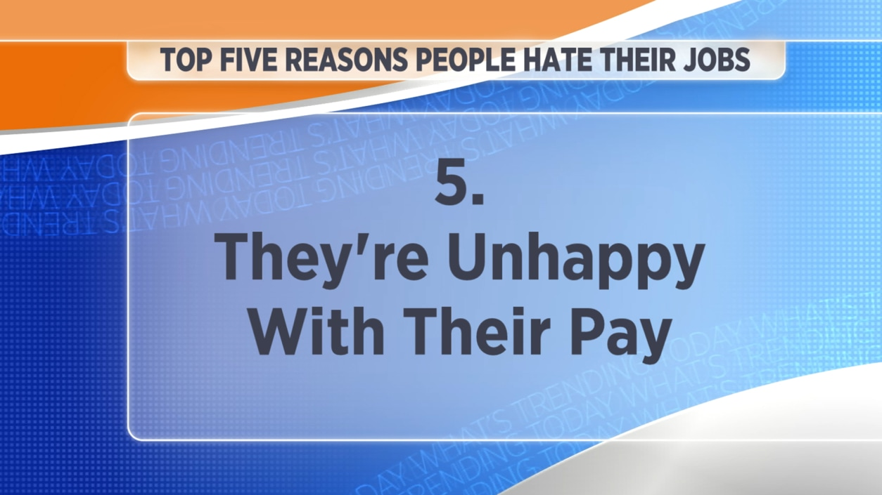 top 10 reasons you hate your job todaycom - Reasons Why People Hate Their Jobs