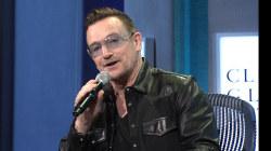 Bono impersonates Bill Clinton at UN