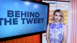 Emma Roberts: Why I tweeted in sushi pajamas