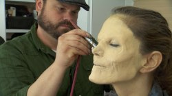 Natalie's 'Walking Dead' zombie transformation