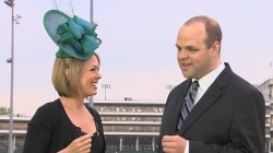 'And they're off!' Kentucky Derby track announcer speaks with TODAY