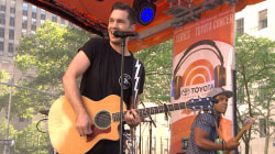 Andy Grammer is 'Back Home' on the TODAY plaza