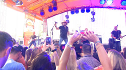 Jason Aldean is 'Burnin' It Down' on the TODAY plaza
