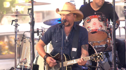 Jason Aldean is 'Just Gettin' Started' on the TODAY plaza