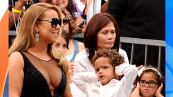 Mariah Carey's twins steal spotlight at Hollywood Walk of Fame
