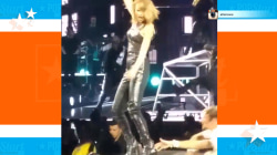Fan grabs Taylor Swift's leg, seems to stir some legit 'Bad Blood'