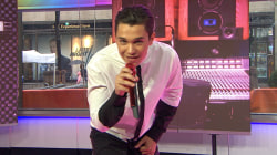 Austin Mahone performs 'Dirty Work,' his new hit
