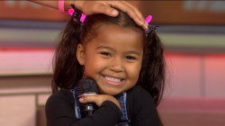 5-year-old Heavenly Joy sings and taps her way into TODAY's heart