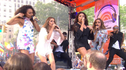 Little Mix perform 'Wings' on the TODAY plaza