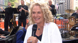 Carole King to TODAY crowd: You make me feel like a 'Natural Woman'