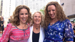 Carole King performs 'I Feel the Earth Move' on the TODAY plaza