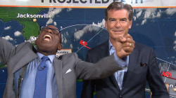 Pierce Brosnan thrills Al Roker: 'I just did the weather with James Bond!'