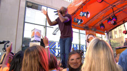 Darius Rucker performs 'Homegrown Honey' on TODAY plaza