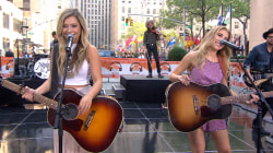 Maddie & Tae perform hit single 'Fly' on TODAY Plaza