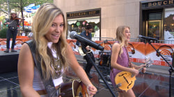 Maddie & Tae sing 'Girl in a Country Song'