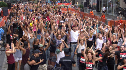 Dancing into the record books with the world's largest street dance