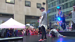 Justin Bieber hits the TODAY plaza again with 'As Long as You Love Me'
