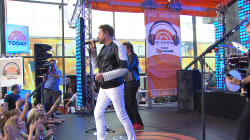 Duran Duran perform 'Hungry Like the Wolf' on the TODAY plaza