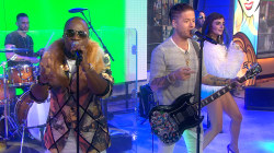Iyaz teams with Nash of Hot Chelle Rae to perform 'Alive'