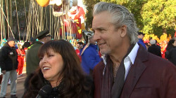 Pat Benatar and Neil Giraldo celebrate Thanksgiving Day parade