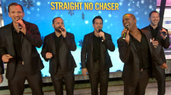 Straight No Chaser are 'Rockin' Around the Christmas Tree' on TODAY