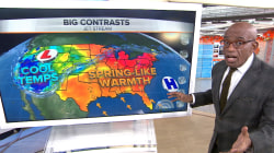 Record warm weather stretches across the East