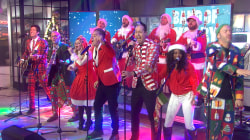 Band of Merrymakers perform 'Must Be Christmas'