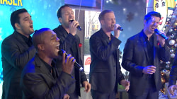 A cappella stars 'Straight No Chaser' sing 'O Holy Night'