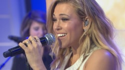 Rachel Platten belts out 'Stand By You' in studio 1A