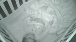 This 2-year-old was overheard praying on a baby monitor
