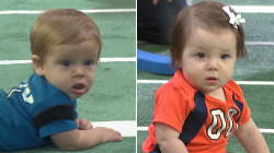 Super Bowl 50: Babies adorably attempt to predict winner