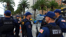 Security forces unite for Super Bowl 50