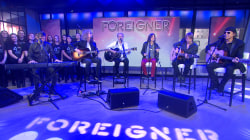 Foreigner performs acoustic version of 'I Want To Know What Love Is'