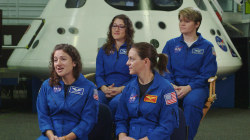 Women and men share NASA's mission to Mars equally
