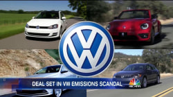 Volkswagen Reaches Deal With Feds Over Emissions Scandal